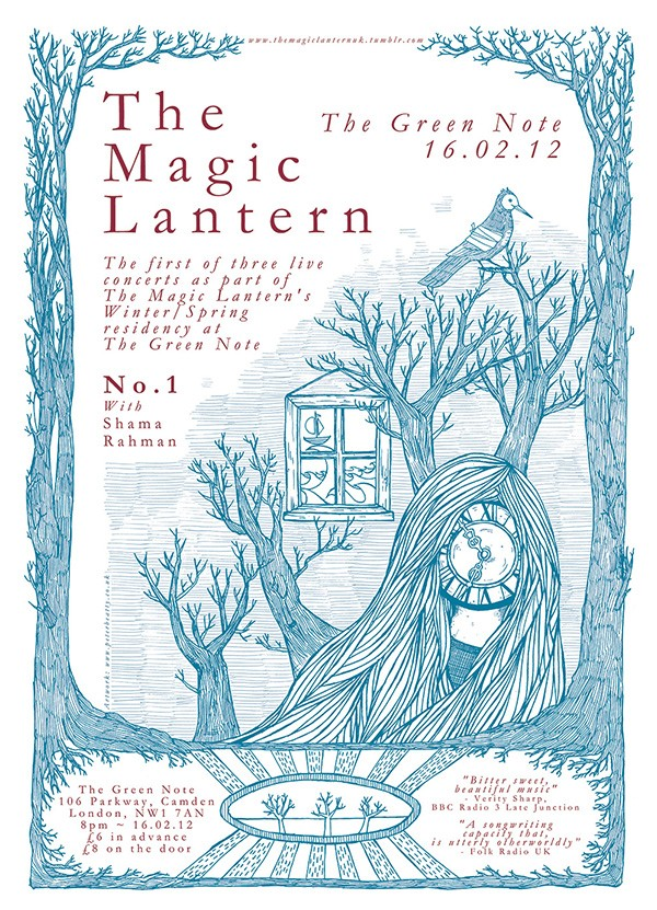 The Magic Lantern – poster set
